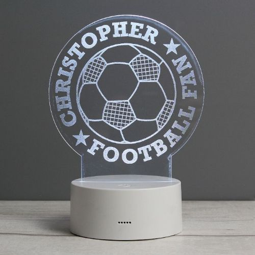 Football LED Colour Changing Desk Night Light
